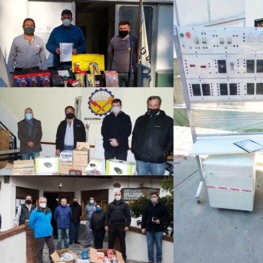 Fundaluz XXI entregó materiales a Centros de Capacitación Laboral