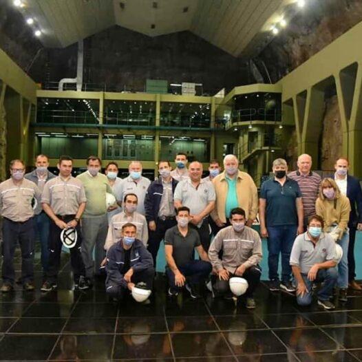 Se puso en marcha hoy el Sistema de Formación Continua en el Complejo Hidroeléctrico Río Grande
